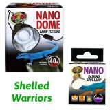 Zoo Med Nano Dome and 40w Basking Spot Lamp - Free Postage
